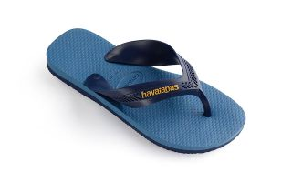 HAVAIANAS TONGS MAX BLEU MARINE JUNIOR