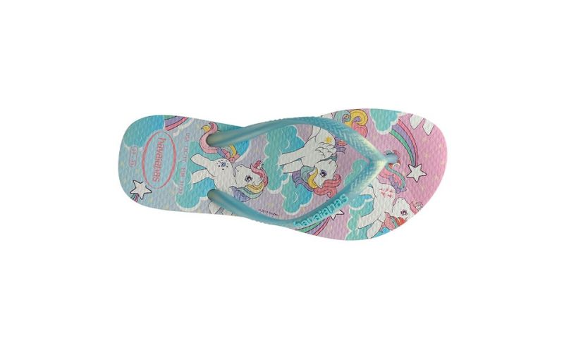 TONGS MY LITTLE PONY BLANC FILLE