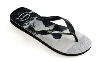 Havaianas TOP PHOTOPRINT BLACK WHITE FLIP-FLOPS