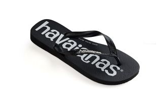 HAVAIANAS CHANCLAS HAVAIANAS TOP LOGOMANIA NEGRO JUNIOR