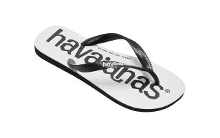 HAVAIANAS SANDALIAS TOP LOGOMANIA NEGRO JUNIOR