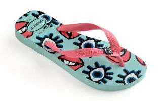 Havaianas LIGHT BLUE TOP FUN FLIP-FLOPS WOMAN