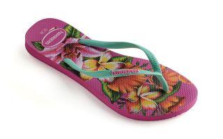 Havaianas SLIM FLORAL WOMAN FLIP-FLOPS