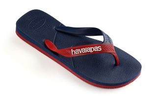 Havaianas TONGS CASUAL NAVY ROUGE