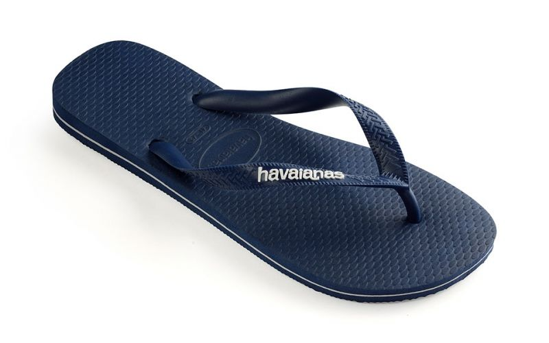 CHANCLAS LOGO FILETE NAVY