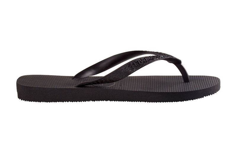 CHANCLAS TOP NEGRO