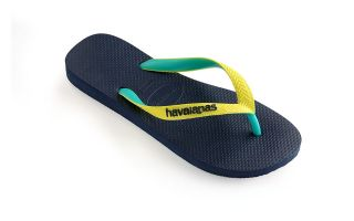 Havaianas TONGS TOP MIX BLEU JAUNE JUNIOR