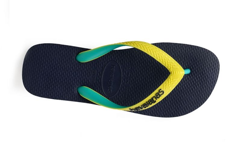 CHANCLAS TOP MIX AZUL AMARILLO