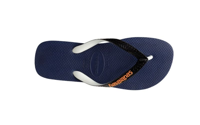 CHANCLAS TOP MIX AZUL NEGRO JUNIOR