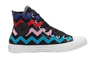 Converse CHUCK TAYLOR ALL STAR NERO MULTICOLORE DONNA