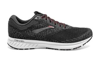 Brooks REVEL 3 CHARCOAL GREY WOMAN