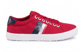 US POLO ASSN JAXON RED