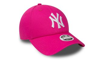 NEW ERA CASQUETTE NY YANKEES LEAGUE ESSENTIAL ROSE FEMME