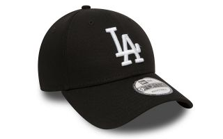 New Era GORRA LA DODGERS ESSENTIAL 9FORTY NEGRO BLANCO