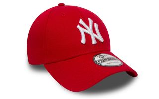 New Era GORRA NY YANKEES ESSENTIAL 9FORTY ROJO BLANCO