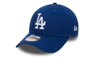 NEW ERA CAP LOS ANGELES DODGERS ESSENTIAL 9FORTY BLUE WHITE