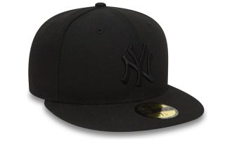 New Era GORRA NEW YORK YANKEES ESSENTIAL 59FIFTY NEGRO