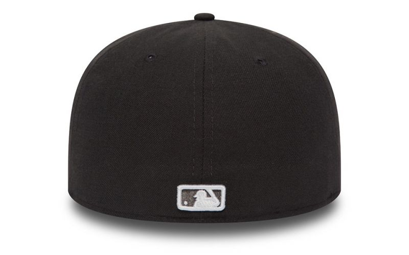 CAPS NY YANKEES ESSENTIAL 59FIFTY GREY WHITE