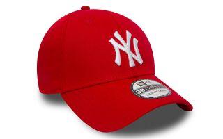 New Era BERRETTO NEW YORK YANKEES ESSENTIAL 39THIRTY ROSSO