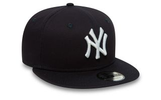 New Era CAPPELLINO NEW YORK YANKEES ESSENTIAL 9FIFTY SNAPBACK BLU NAVY