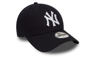GORRA NY YANKEES LEAGUE BASIC 9FORTY NAVY BLANCO NIÑO