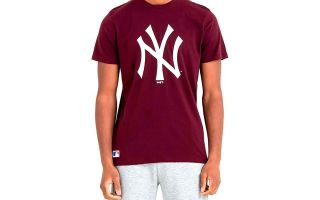 New Era CAMISETA NEW YORK YANKEES MLB BASICS ROJO