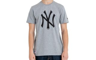 New Era T-SHIRT NEW YORK YANKEES MLB BASICS GREY