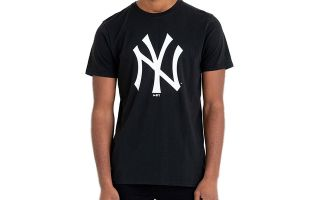 New Era T-SHIRT NEW YORK YANKEES MLB BASICS BLACK