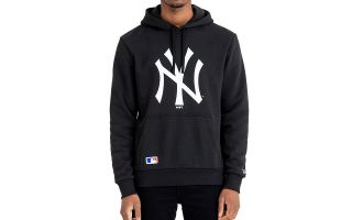 New Era FELPA NEW YORK YANKEES MLB BASICS NERO