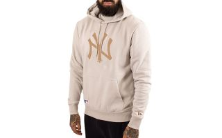New Era SUDADERA NEW YORK YANKEES THE LEAGUE MARR�N BEIGE