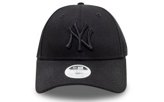 New Era GORRA LEAGUE ESSENTIAL 9FORTY NEGRO MUJER