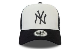 New Era GORRA NY YANKEES TEAM COLOR BLOCK TRUCKER BLANCO AZUL