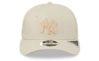New Era CAPPELLINO NEW YORK YANKEES TONAL STRETCH SNAP 9FIFTY BEIGE