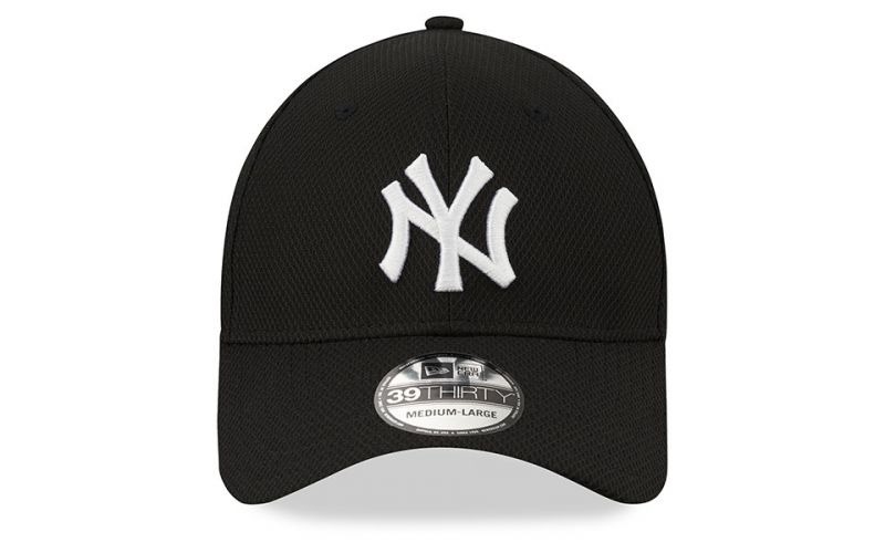 GORRA NEW YORK YANKEES DIAMOND ERA 39THIRTY NEGRO BLANCO