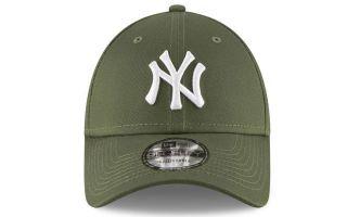 NEW ERA CAP NEW YORK YANKEES ESSENTIAL OLIVE GREEN