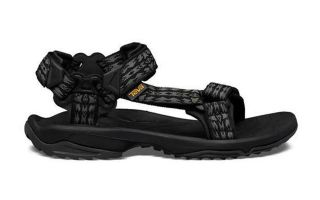 Teva BLACK TERRA FI LITE SANDALS