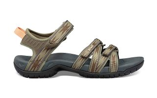 Teva BROWN TIRRA SANDALS WOMAN