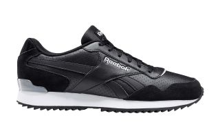 Reebok ROYAL GLIDE RIPPLE CLIP BLACK WHITE