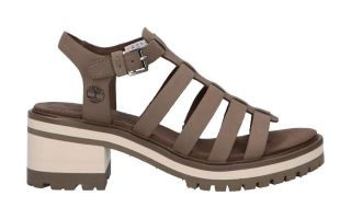 Timberland SANDALS VIOLET MARSH FISH BEIGE WOMAN