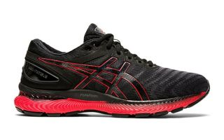 Asics GEL NIMBUS 22 BLACK RED 1011A680.003