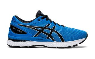 Asics GEL NIMBUS 22 BLUE BLACK 1011A680.405