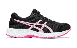 Asics GEL CONTEND 6 MUJER NEGRO ROSA 1012A570.003