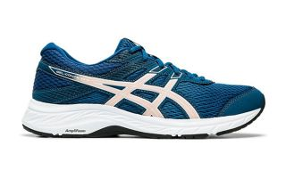ASICS GEL CONTEND 6 AZUL ROSA MUJER 1012A570.401