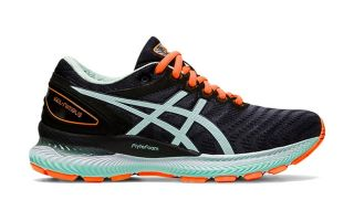 GEL NIMBUS 22 BLACK MINT WOMEN