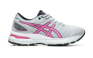 Asics GEL NIMBUS 22 GREY PINK WOMEN