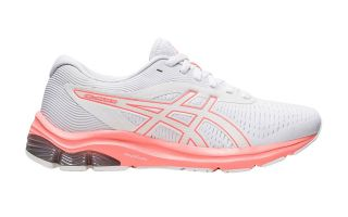 ASICS GEL-PULSE 12 MUJER BLANCO CORAL 1012A724.101
