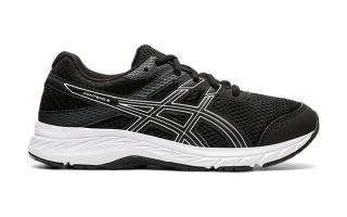 Asics CONTEND 6 GS BLACK WHITE JUNIOR