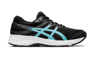 Asics CONTEND 6 GS BLACK BLUE BOY