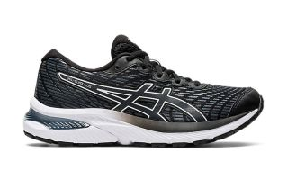 Asics GEL-CUMULUS 22 GS BLACK WHITE BOY 1014A148.001