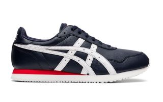 Asics TIGER RUNNER BLU NAVY BIANCO